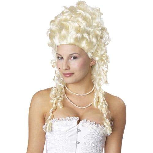Marie Antoinette Blonde Adult Halloween Wig