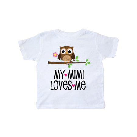 Girl Owl (My Mimi Loves Me Girls Owl Toddler T-Shirt )