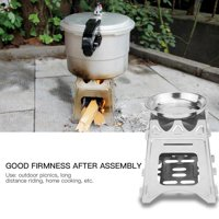 FAGINEY Mini Stove Portable Outdoor Compact Camping Burners for Cooking Picnic Hiking, Stove for Picnic, Cooking Stove