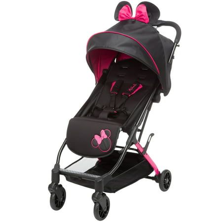 Disney Baby Teeny Ultra Compact Stroller, Let's Go Minnie!