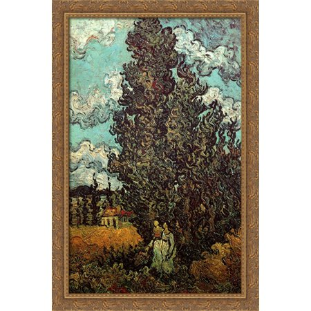 Cypresses and Two Women 26x40 Large Gold Ornate Wood Framed Canvas on 26x28 floor plans, 24x42 floor plans, 24 x 40 house floor plans, modular home floor plans, 24x30 floor plans, 18x24 floor plans, 24x36 floor plans, 22x30 floor plans, 28x40 floor plans, 40 x 50 floor plans, 24x40 floor plans, arcade floor plans, 11x17 floor plans, 26x36 floor plans, 26x44 floor plans,
