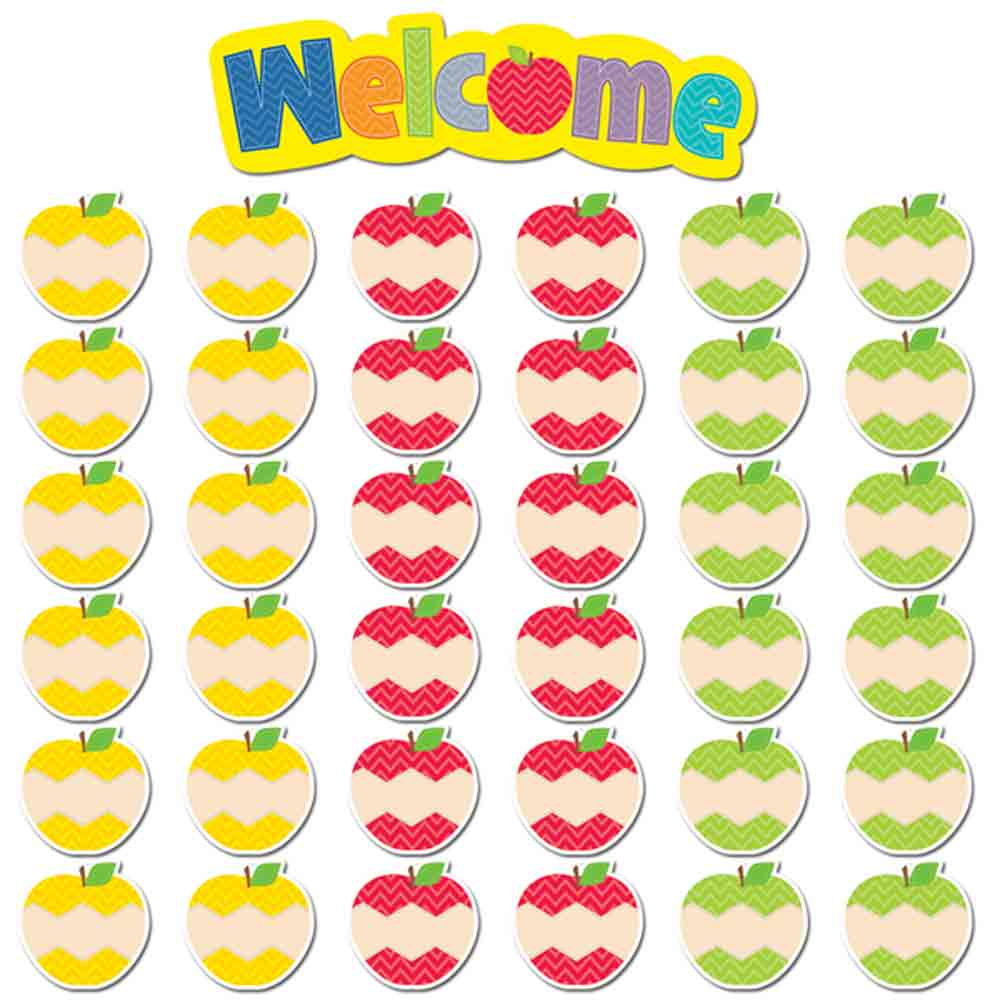 Creative Teaching Press CTP6956 Apples Welcome Mini Bulletin Board