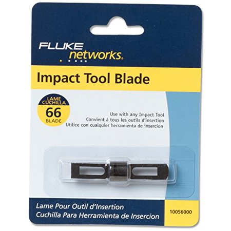 Fluke Networks 10056000 Replacement 66 Blade for D914S, D914 and D814 Series Impact Punch Down Tools (Fluke Networks Dtx Series)