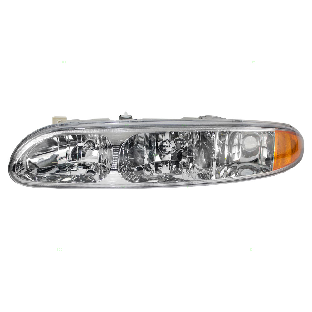 Drivers Headlight Headlamp Replacement for Oldsmobile 22689652