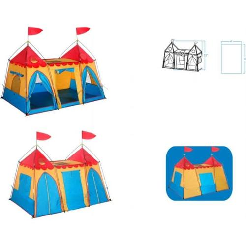 Gigatent CT 004 Fantasy Palace Play Tent 6  x 4  x 48   Height