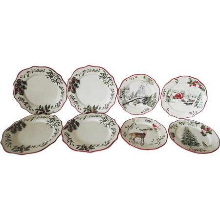 Better Homes And Gardens Plate Set 8 Piece