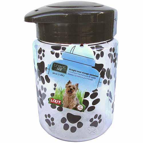 Lixit Corporation Dog Treat Jar, 128-Oz