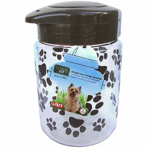 Lixit Corporation Dog Treat Jar, 128-Oz