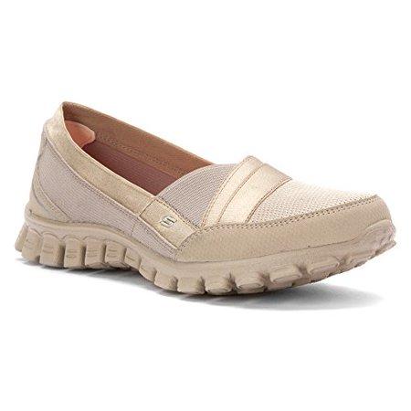 d03e3440b321 SKECHERS - SKECHERS Women s EZ Flex 2 - Quipster Taupe Sneaker 7.5 B (M) -  Walmart.com