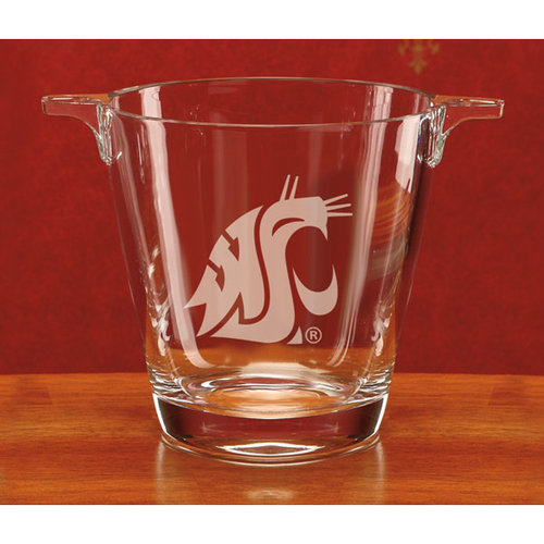 NCAA - Washington State Cougars Deep Etched Crystal University Ice Tub