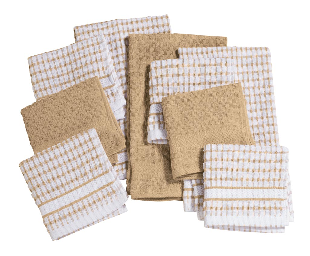 Click here to buy Terry Kitchen Towels, Set of 3 by Walter Drake.