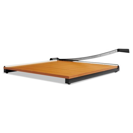 X-ACTO Square Commercial Grade Wood Base Guillotine Trimmer, 20 Sheets, 30