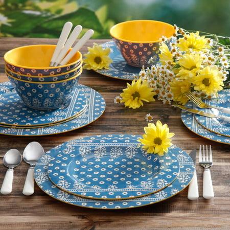 Laguna Gallery Odessa 12-Piece Melamine Dinnerware