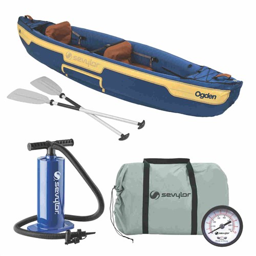 Sevylor Ogden 2-person Canoe Combo Ogden 2-Person Canoe Combo
