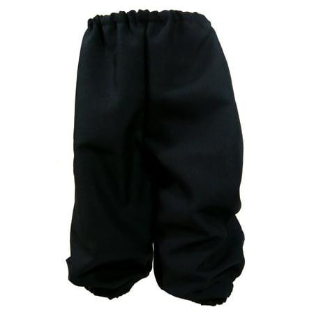 Knickers Child Boys Short Pants Black DC1236 - Small