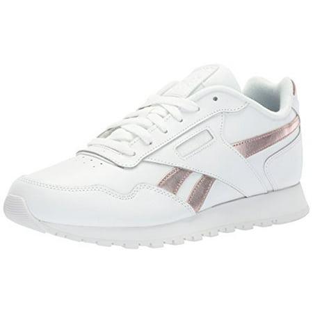 422100764f Reebok Classic Harman Run Sneaker, us-White/Rose Gold, 9.5 M US
