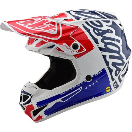Troy Lee Designs SE4 Polyacrylite Factory Adult Off-Road Motorcycle