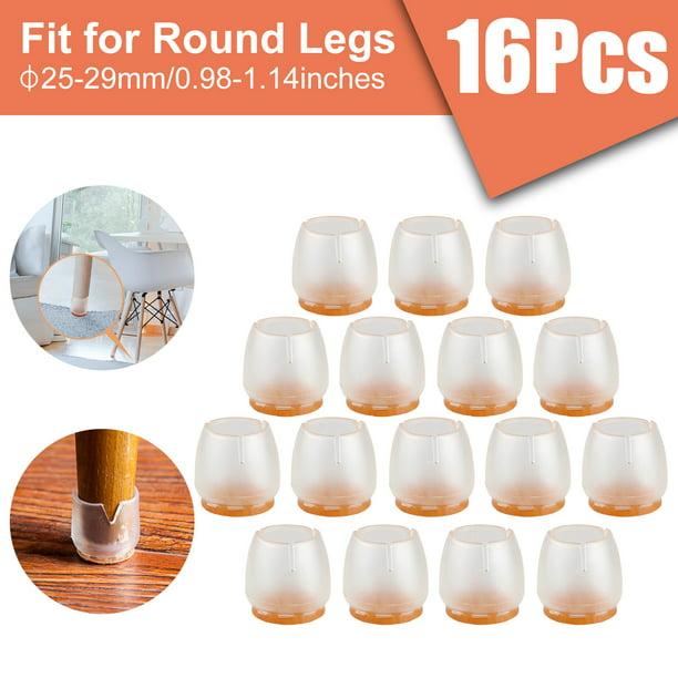 Tsv 16pcs Silicone Chair Leg Caps Feet, Furniture Feet Covers As Seen On Tv