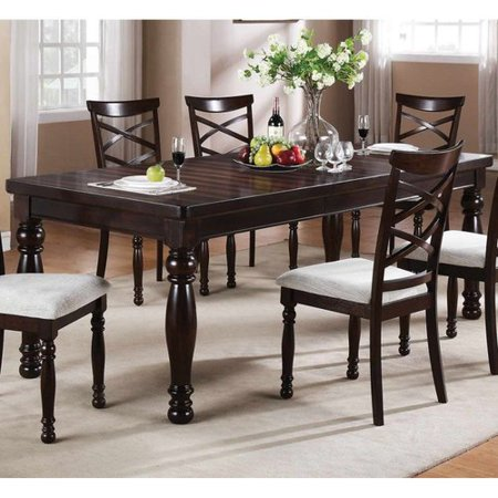 Winners Only DH14090 Hamilton Park Leg Dining Table with Butterfly Leaf