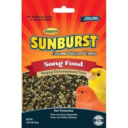 Higgins Sunburst Song Food Canary Bird Treat, 3 -