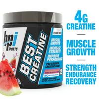 BPI Sports Best Creatine Powder, Watermelon Cooler, 50 Servings