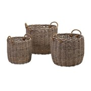 IMAX Mellie Willow Baskets - Set of 3 (86515-3)