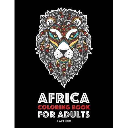 Africa Coloring Book For Adults Artwork Inspired By African Designs Adult