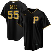 Josh Bell Pittsburgh Pirates Nike Youth Alternate 2020 Replica Player Jersey - Black