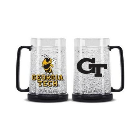 Georgia Tech Yellow Jackets Crystal Freezer Mug