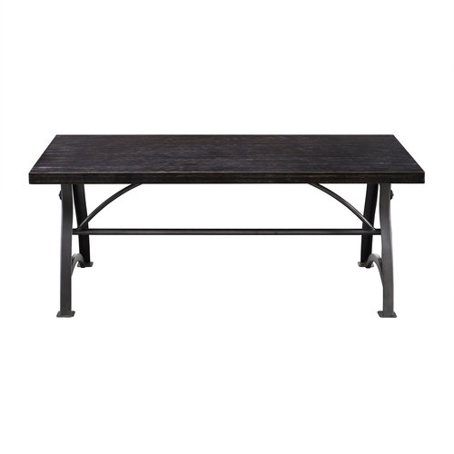 Accentrics Home Tiburon Wood & Metal Cocktail Table by