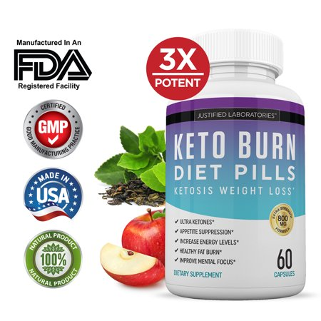Keto Diet Pills Burn Shred BHB Salts Advanced Ketogenic Supplement Exogenous Ketones Ketosis Weight Loss Fat Burner Fast Carb (Fblock Xtra Fat Blocker)