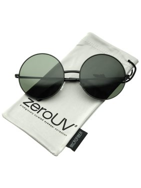 cdf1f8565 Product Image zeroUV - Super Large Oversize Slim Temple Round Sunglasses  61mm - 61mm