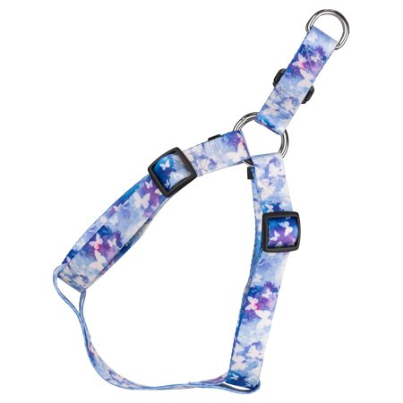 Country Brook Petz® Watercolor Butterflies Step-In Dog Harness - Butterfly Dog