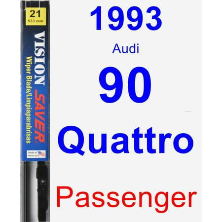 1993 Audi 90 Quattro Passenger Wiper Blade - Vision Saver 1993 Audi 90 Quattro