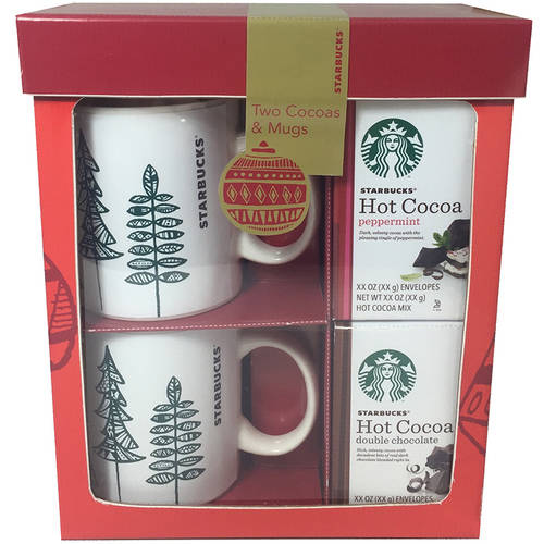 Starbucks Holiday Cocoa for Two Box Set