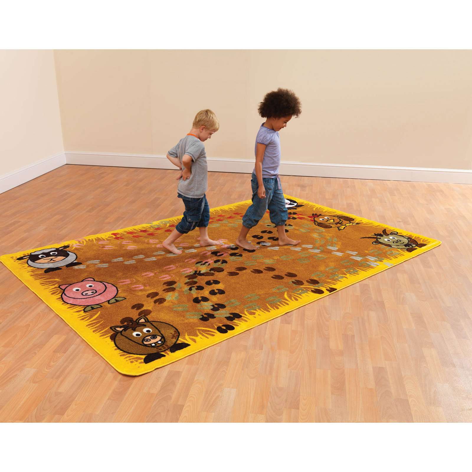 Kalokids Town & Country Follow that Farm Animal Motricity Carpet