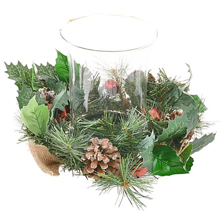 better homes and garden holiday hurricane lamp