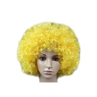 DYMADE 18 Colours Curly Afro Fancy Dress Funky Wig Disco Clown Mens/Ladies Costume