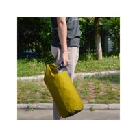 20L Waterproof Floating Water Resistant Dry Bag for Swimming Boating Camping Biking Nylon Yellow
