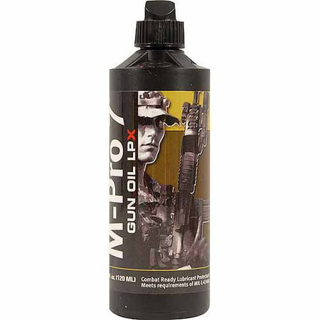 M-PRO7 M-PRO7 GUN OIL LPX 4OZ BOTTLE