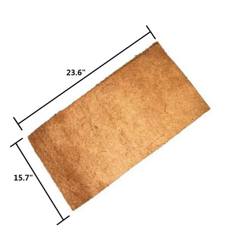 Coconut Fiber Mat Reptiles Carpet Reptiles Cage Mat Substrate for Lizards/Turtles/ Snakes Iguana