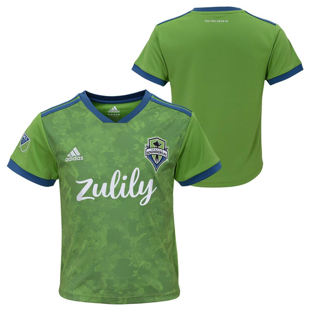 half off 9998c f971b Toddler Seattle Sounders FC Jersey Replica Infant Soccer Kit