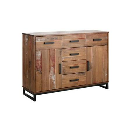 scandinavian lifestyle santo sideboard santo sideboard cream brushed. Black Bedroom Furniture Sets. Home Design Ideas