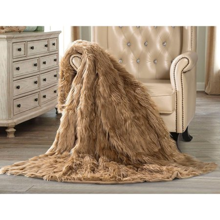 Thermal Throw (NEW - Luxury Faux Fur Soft Plush Thermal Throw Blanket 60