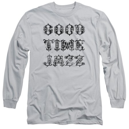 Good Time Jazz Gtj Vintage Mens Long Sleeve Shirt