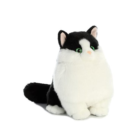 Muffins Tuxedo Fat Cats 9 inch - Stuffed Animal by Aurora Plush (02479)