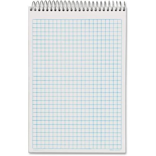 "Tops NoteWorks Steno Book - 6 x 9"" inch - 100 White Sheets Per Book 63825"