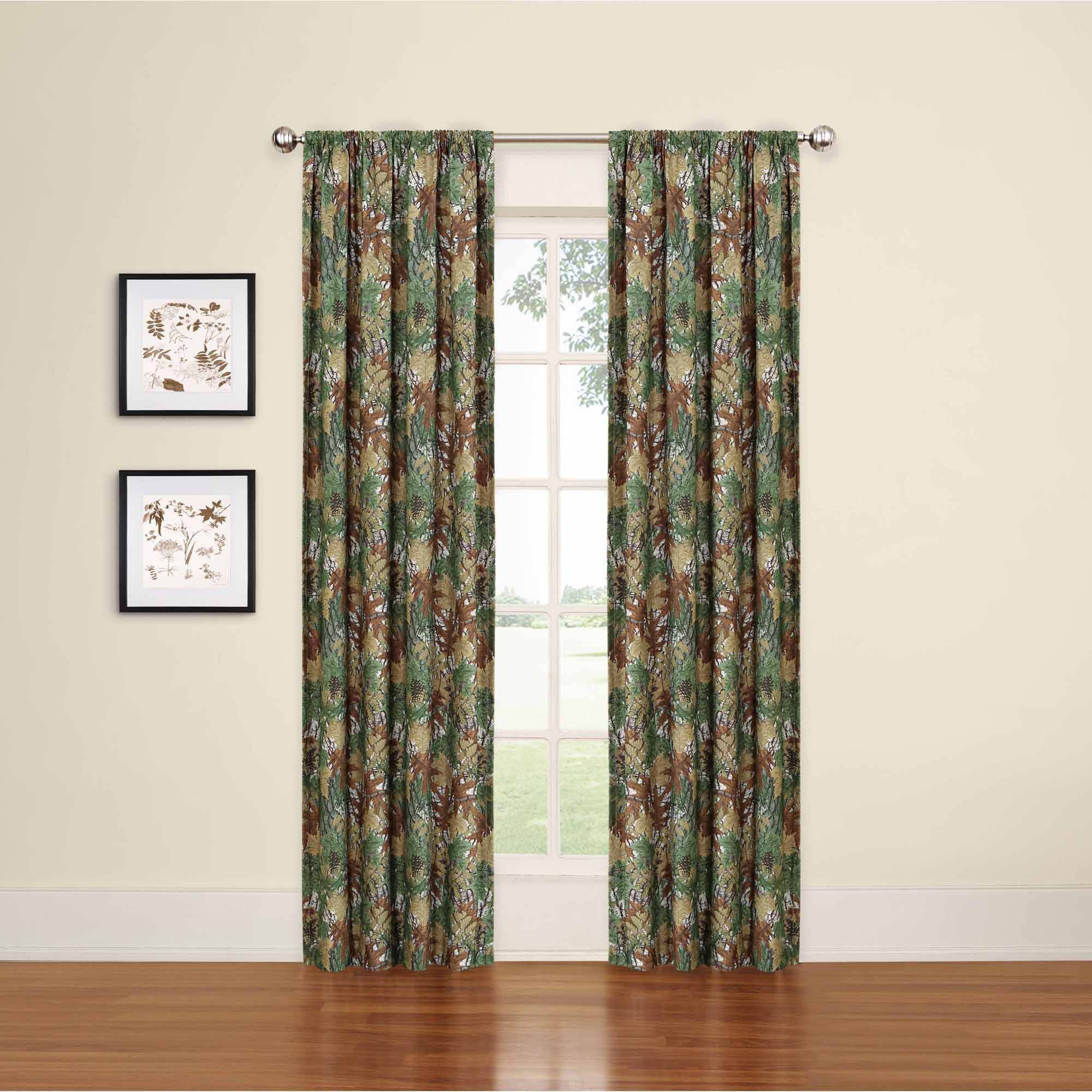 Details about Camouflage Window Curtain Panel Room Darkening Boys Bedroom  Curtains, 4\' x 84\