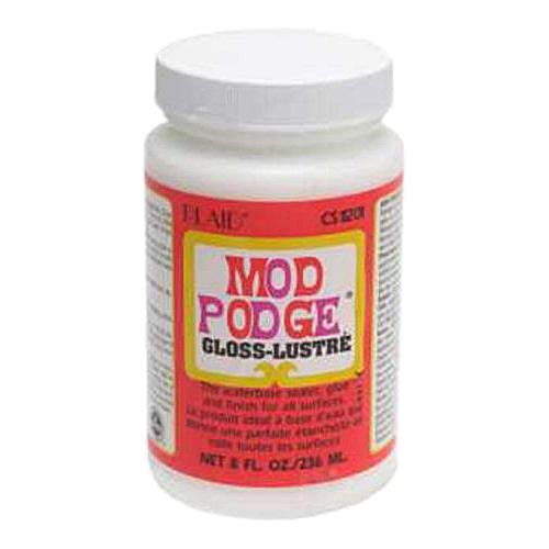 Mod Podge Gloss All-In-One Decoupage Sealer / Glue / Finish (8 fl. oz. )