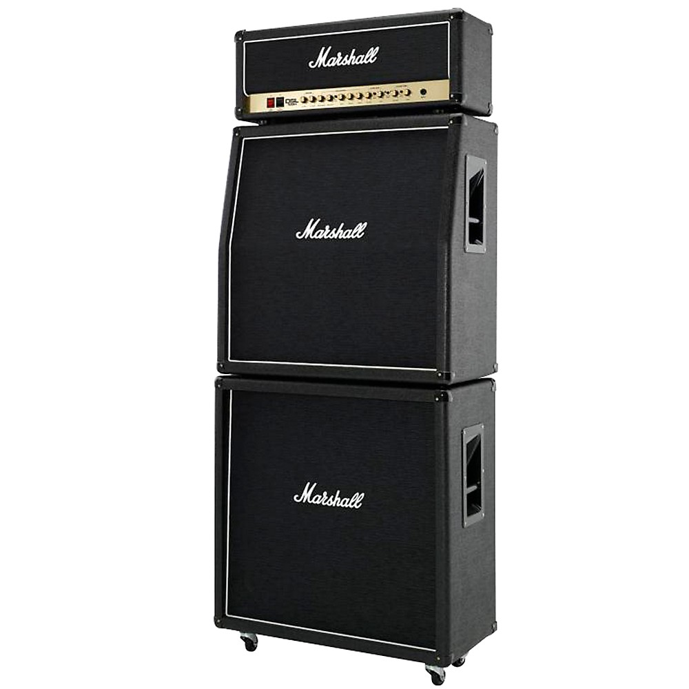 "Marshall MX412 Celestion-Loaded 4x12"" 240W Guitar Speaker Cabinet Slant Black - Walmart.com"